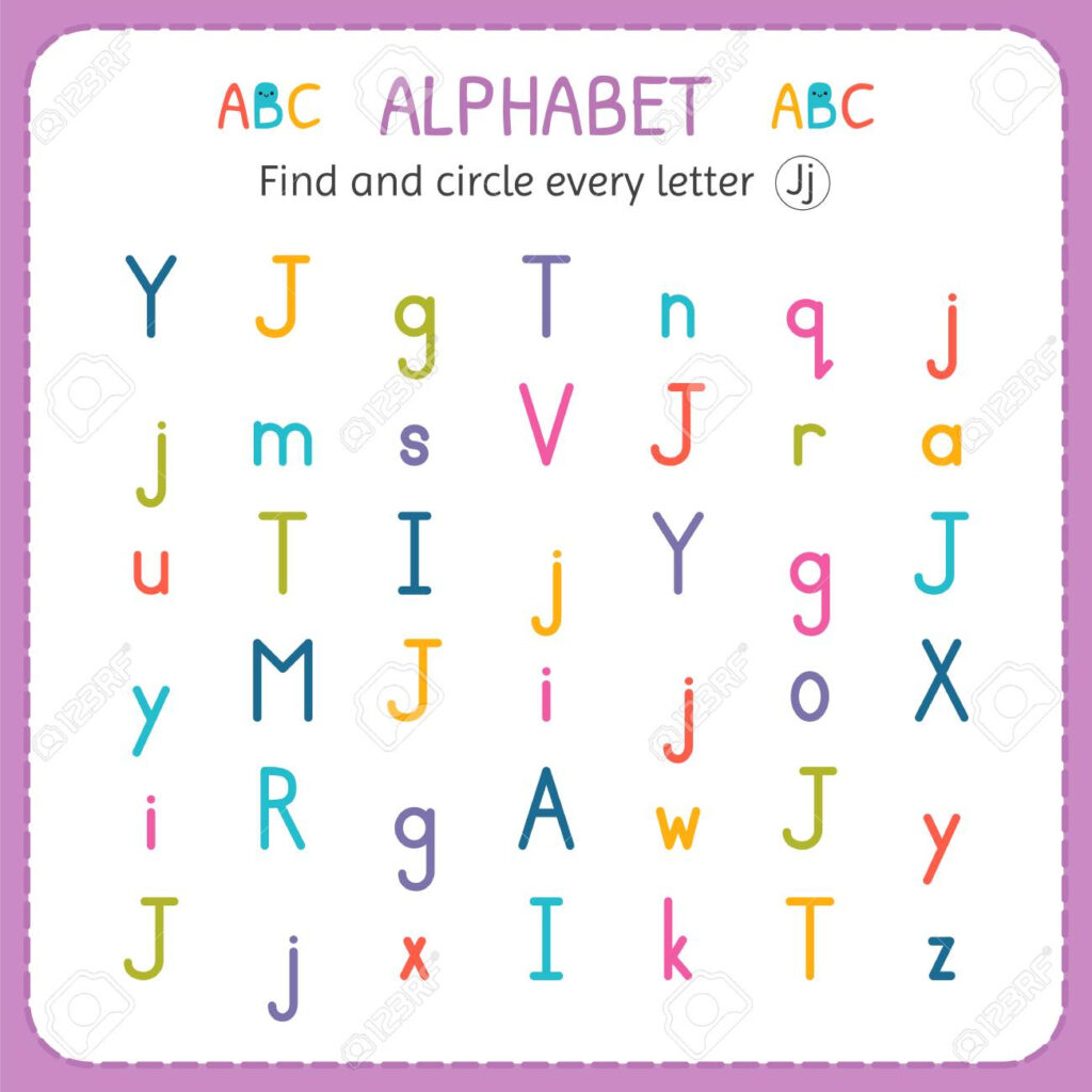 11 Letter J Worksheets For Kids | Kittybabylove Inside Letter J Worksheets For Toddlers