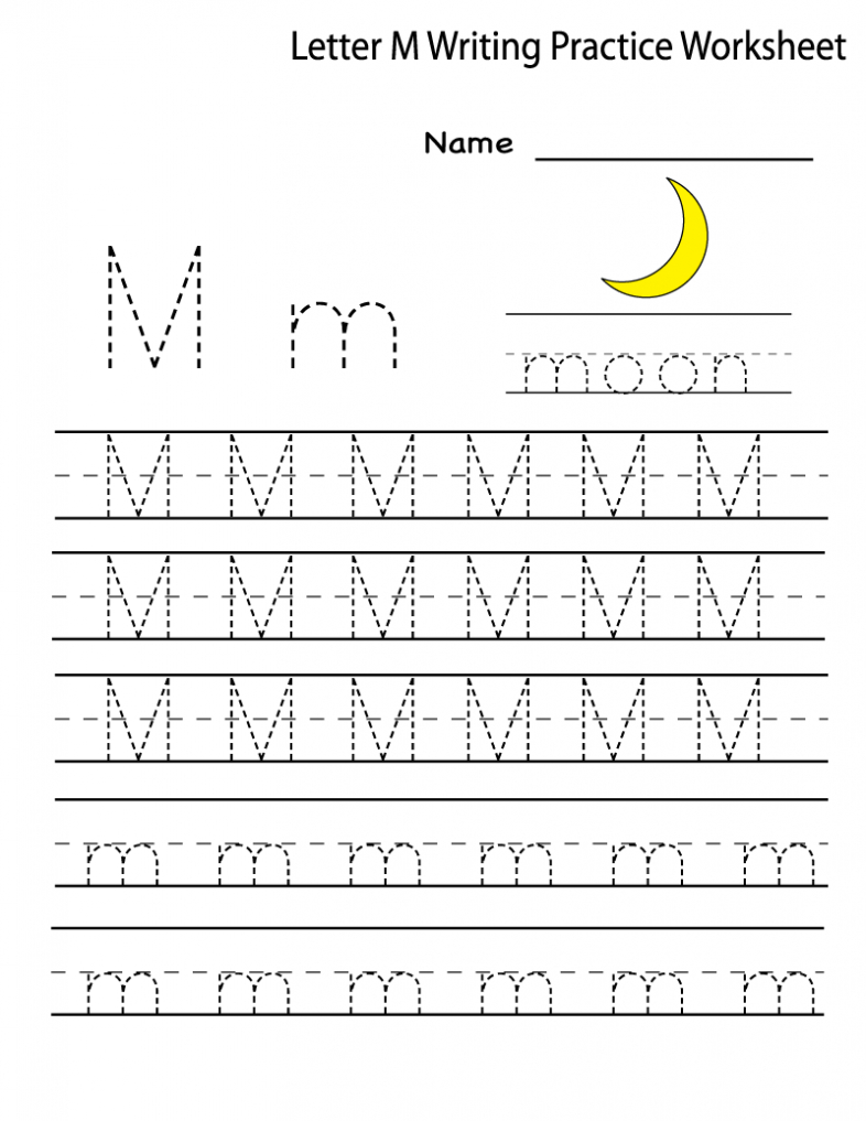 20 Instructive Letter M Worksheets For Toddlers intended for M Letter Worksheets Preschool