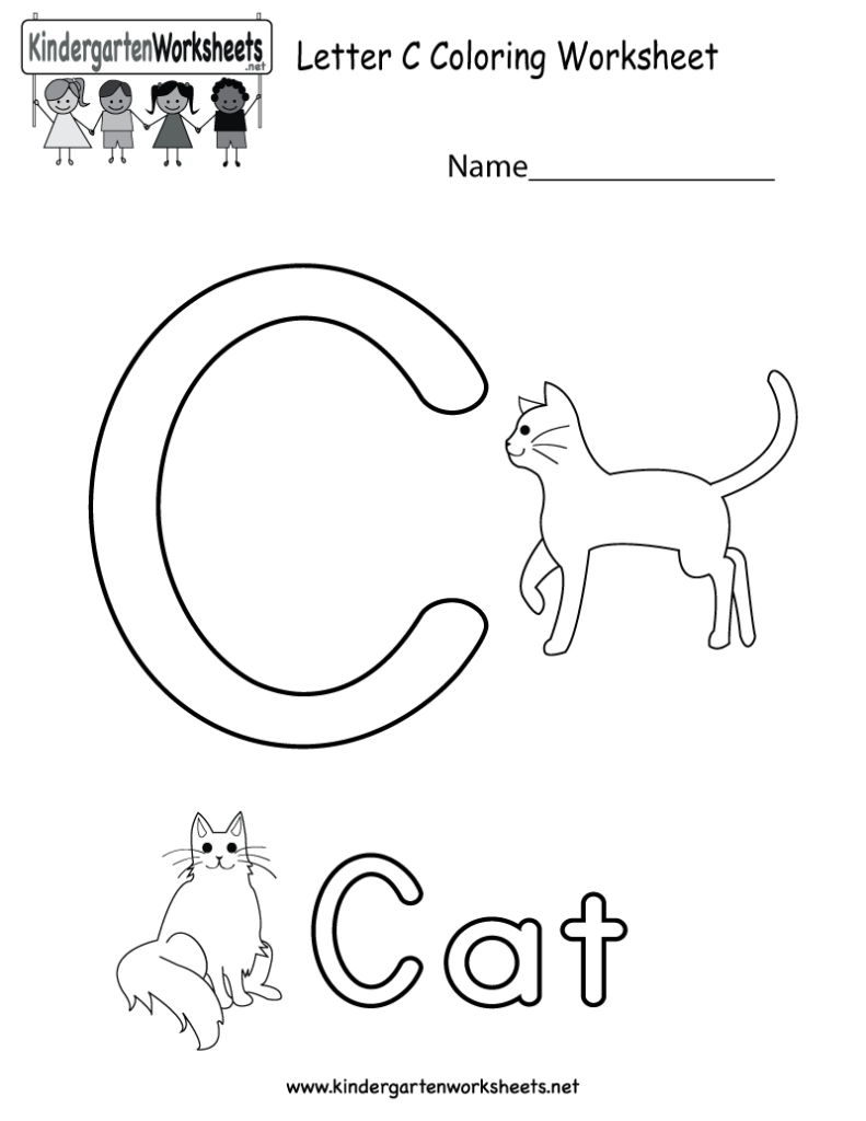 28 Letter C Worksheets For Young Learners | Kittybabylove Throughout Letter C Worksheets For 2 Year Olds