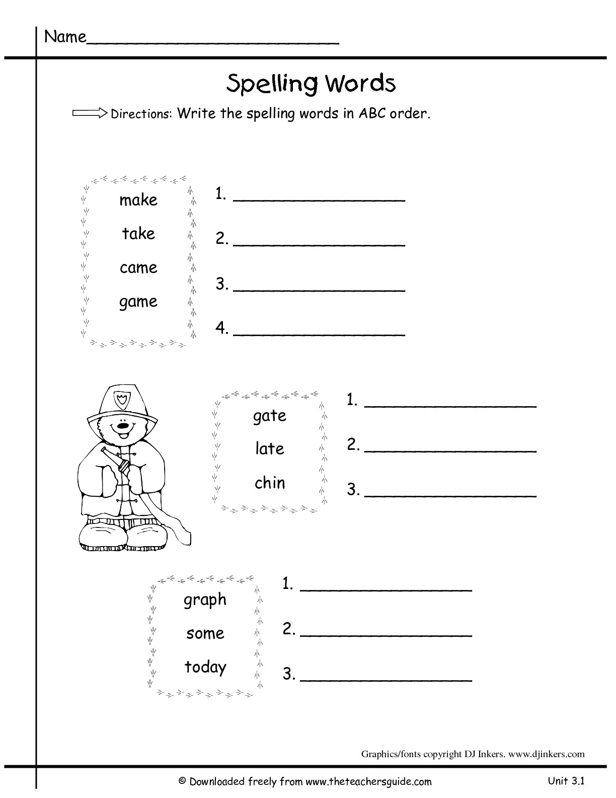 38 Alphabetical Order Worksheets | Kittybabylove throughout Alphabet Ordering Worksheets Ks1