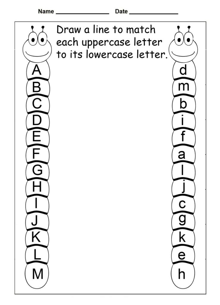 4 Year Old Worksheets Printable | Arlo Ridenour | Preschool Inside Alphabet Worksheets Grade 1