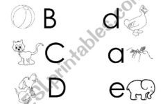 Letter E Worksheets Lowercase