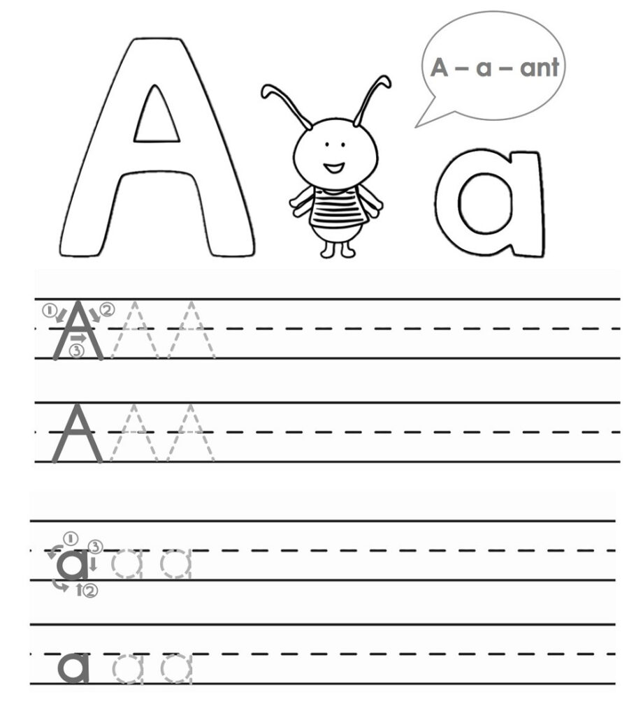 Abc Trace Worksheets 2019 | Activity Shelter Intended For Alphabet Tracing Worksheets For 4 Year Olds
