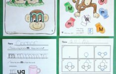 Letter M Worksheets For First Grade