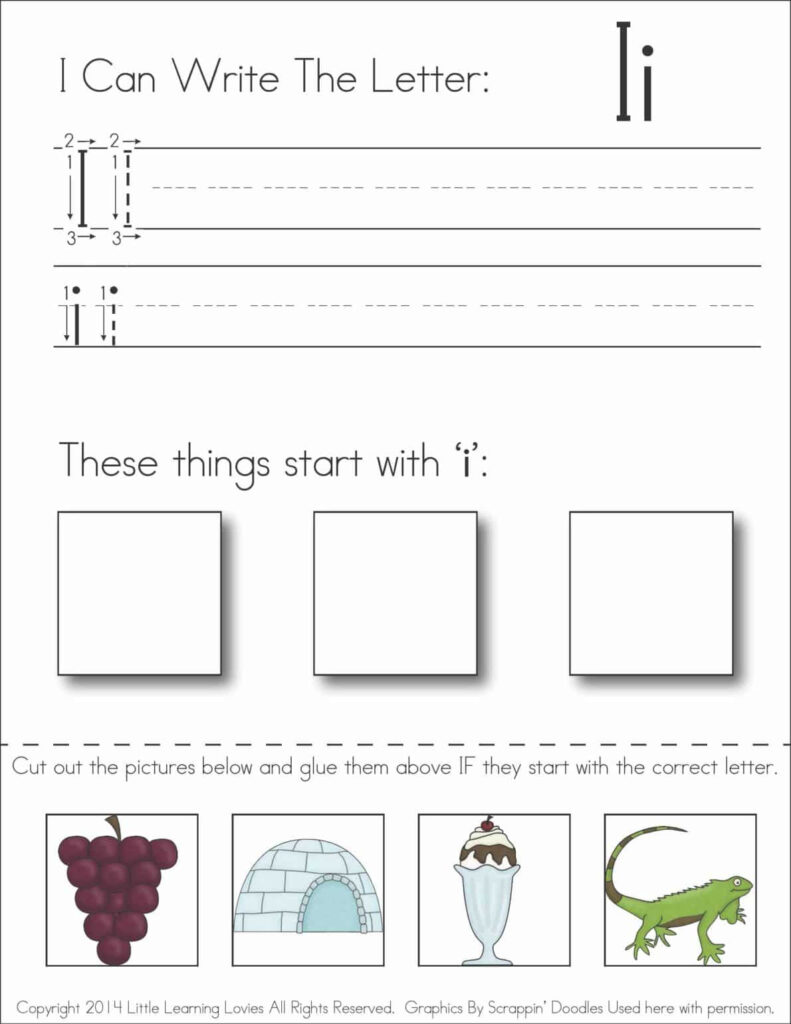 Alphabet Activities – Little Learning Lovies Regarding Letter H Worksheets Cut And Paste