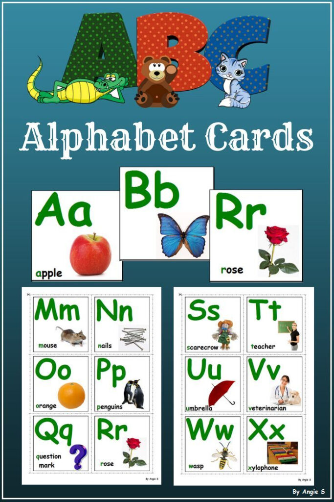 Alphabet Cards, Autism Alphabet | Free Preschool Worksheets Regarding Alphabet Worksheets For Special Needs