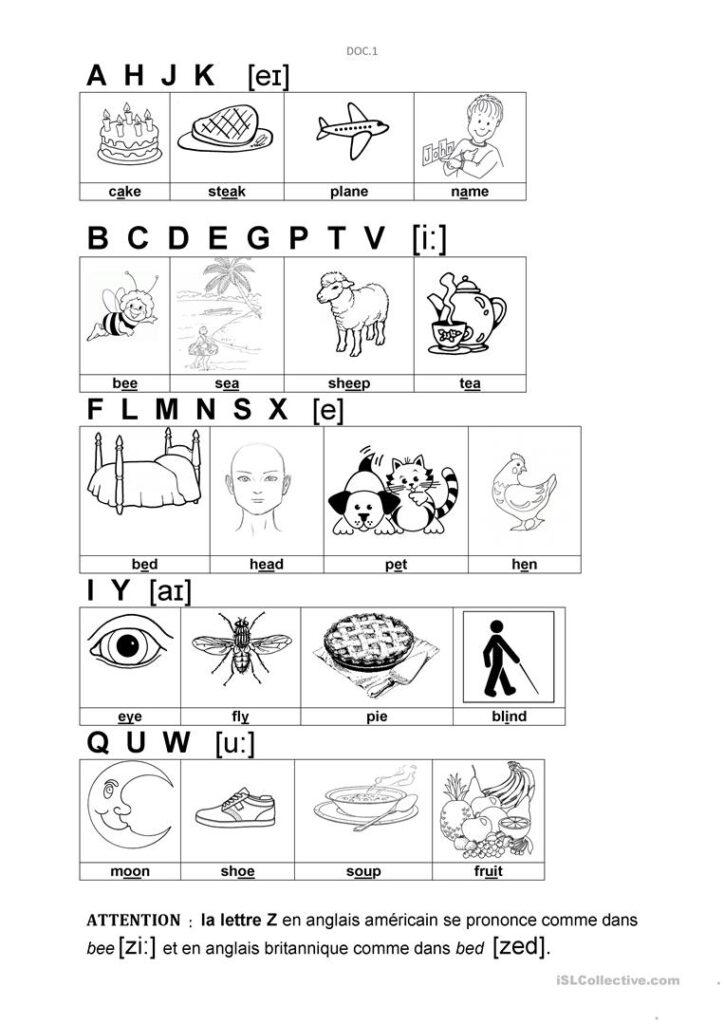 Alphabet   English Esl Worksheets Regarding Alphabet Sounds Worksheets Esl