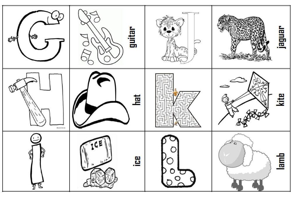 Alphabet For Kids Pertaining To Alphabet Worksheets Busy Teacher