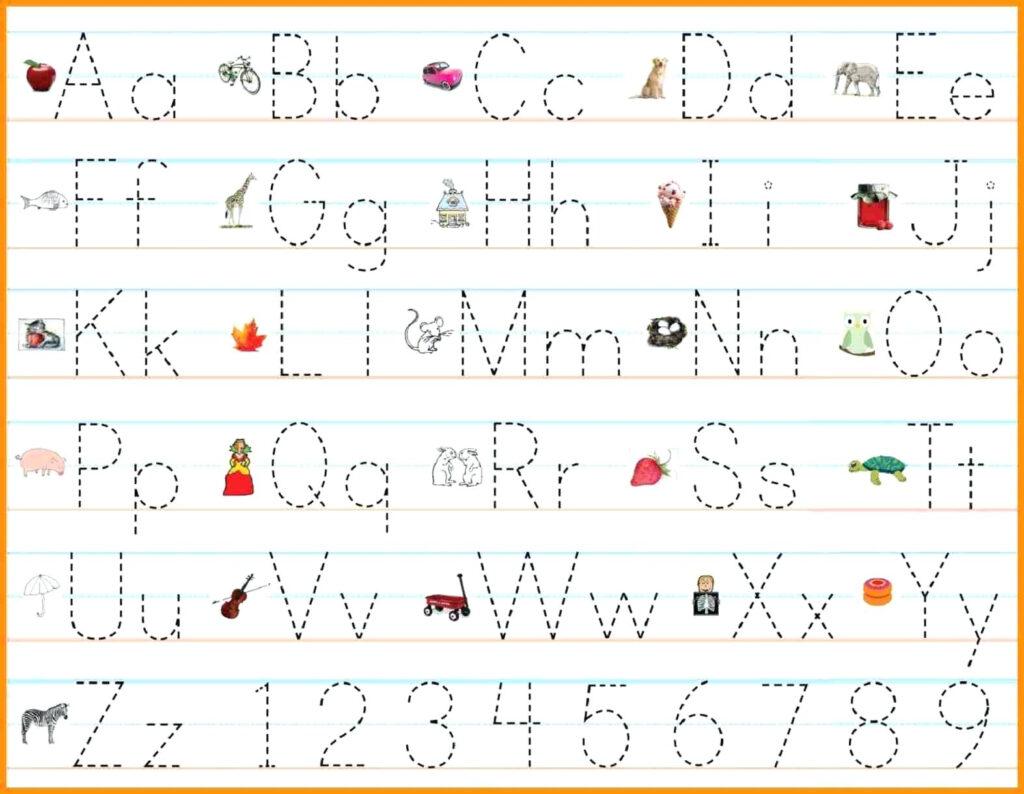 Alphabet Handwriting Practice Sheets Alphabet Writing Throughout Alphabet Practice Worksheets Pdf