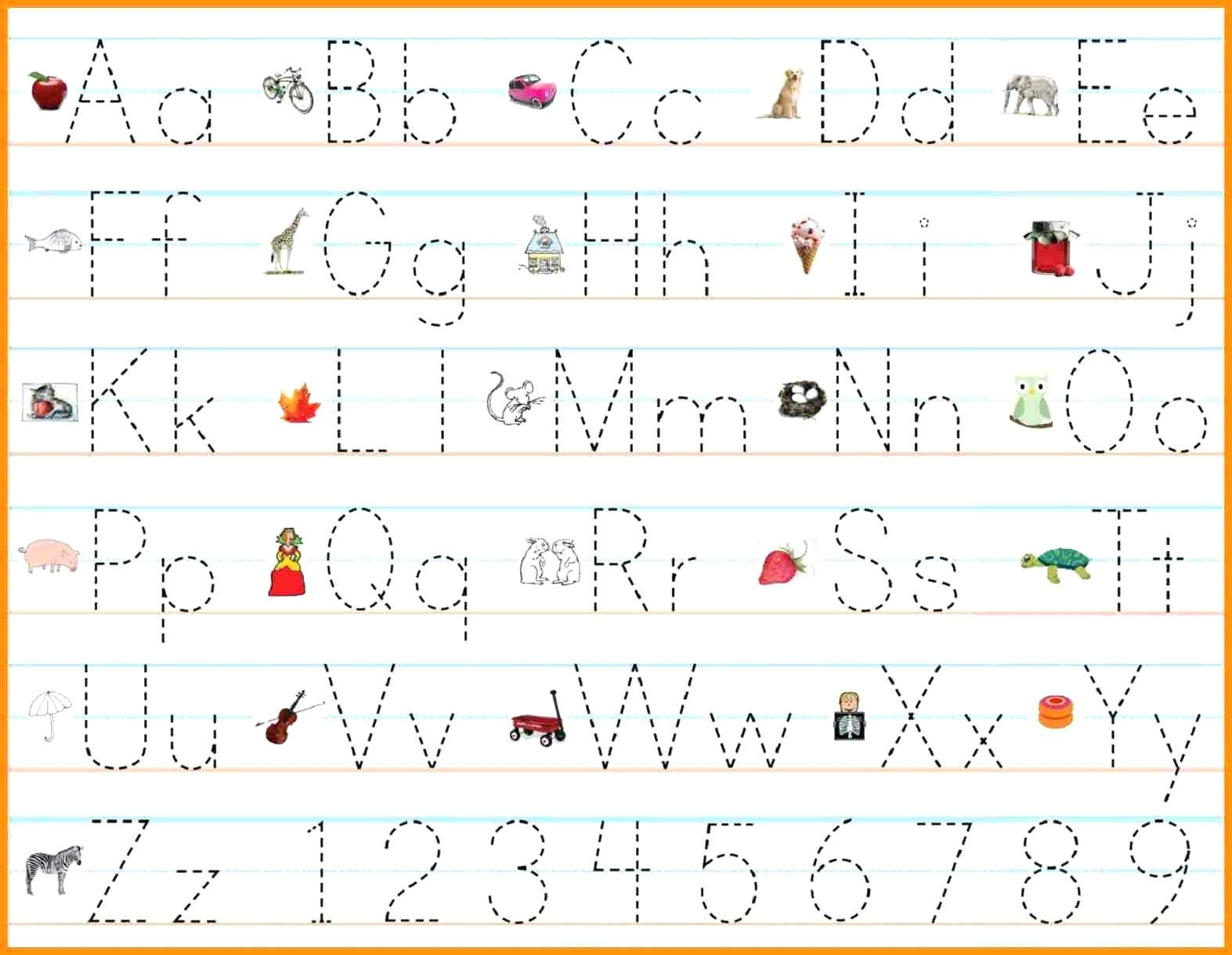 Alphabet Handwriting Practice Sheets Alphabet Writing within Alphabet Handwriting Worksheets A To Z Printable