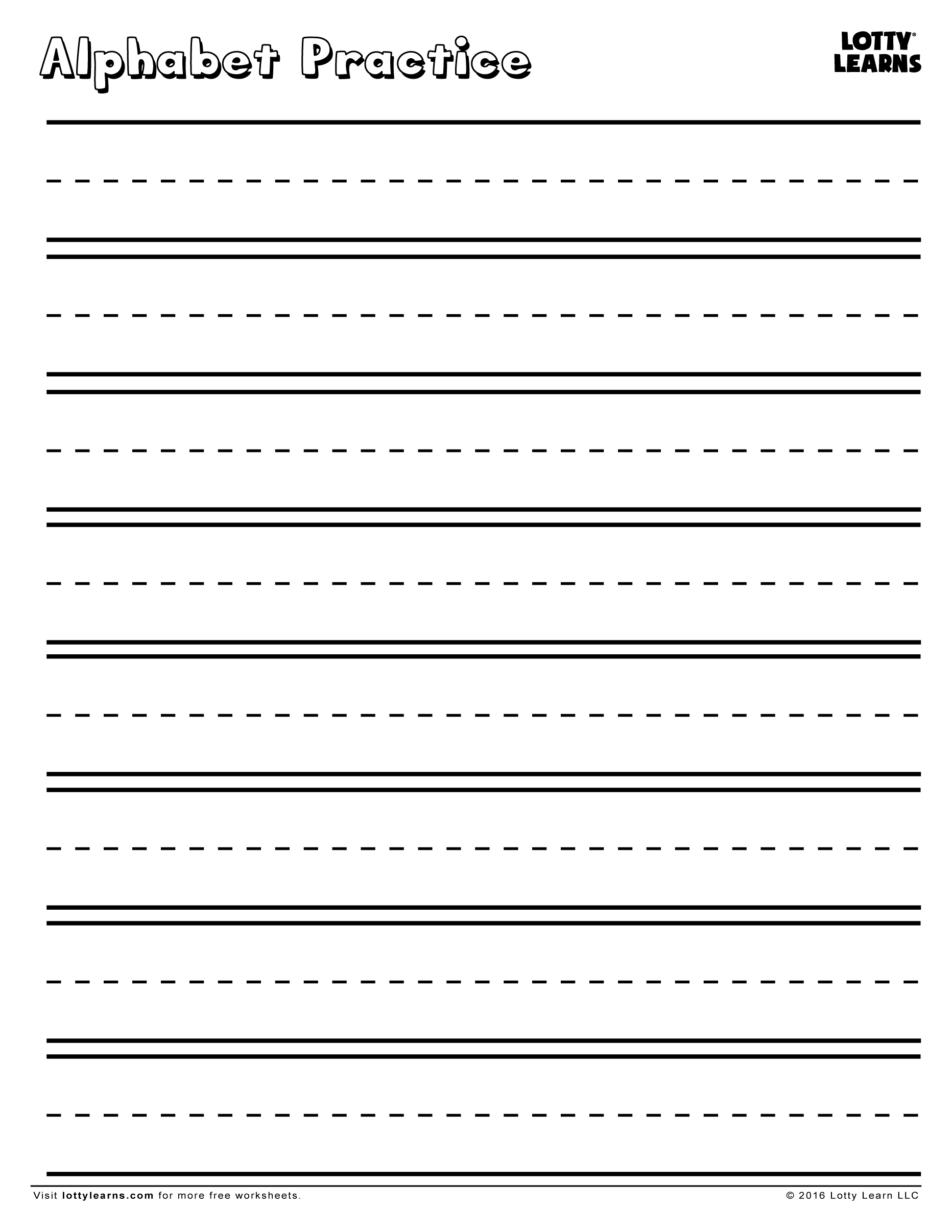 Alphabet Practice Sheets Free - Zelay.wpart.co within Alphabet Review Worksheets For Pre-K
