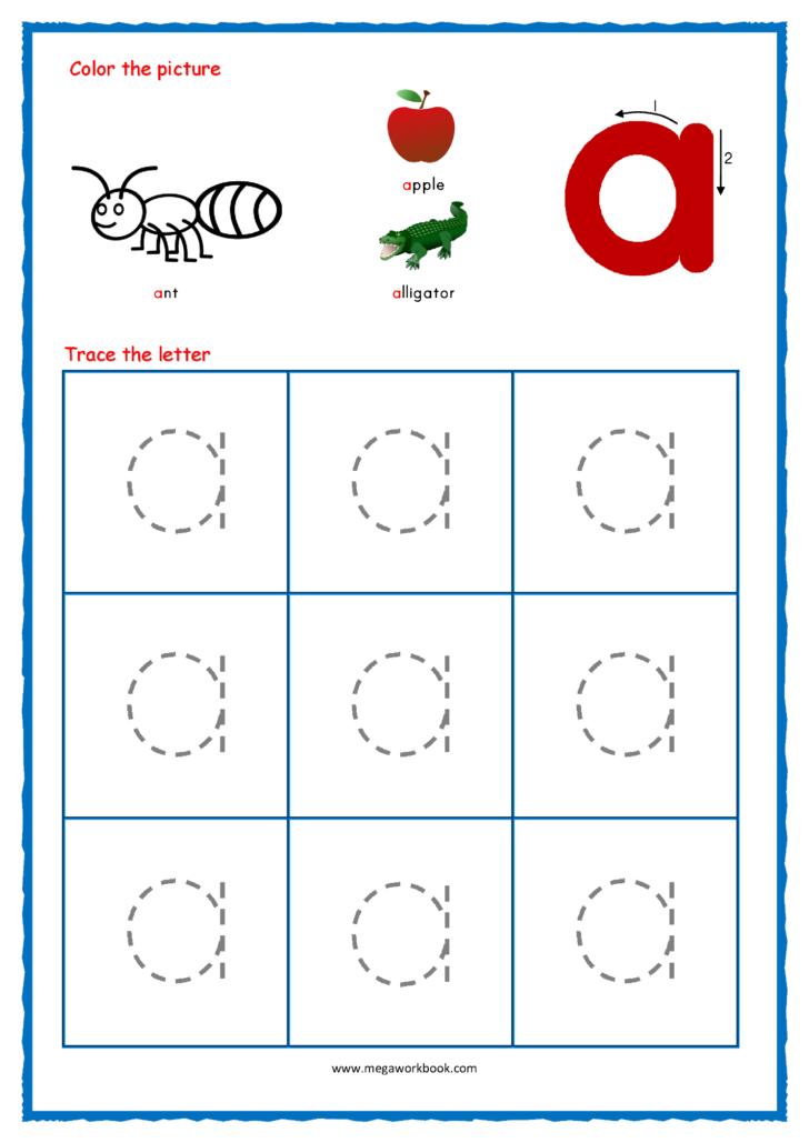 Alphabet Worksheets Lowercase