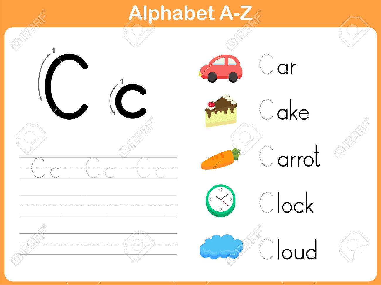 Alphabet Tracing Worksheet: Writing A-Z with regard to Alphabet Tracing Worksheets A-Z