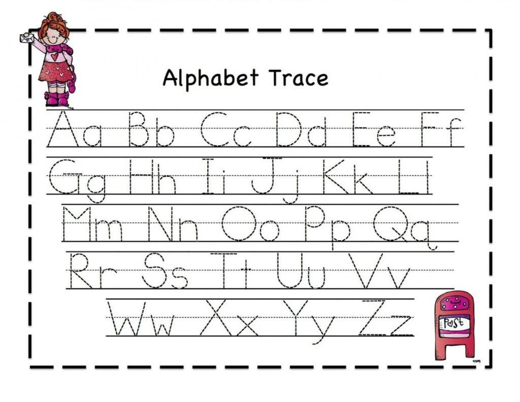 Alphabet Tracing Worksheets Pdf | Kindergarten | Alphabet With Alphabet Writing Worksheets Pdf