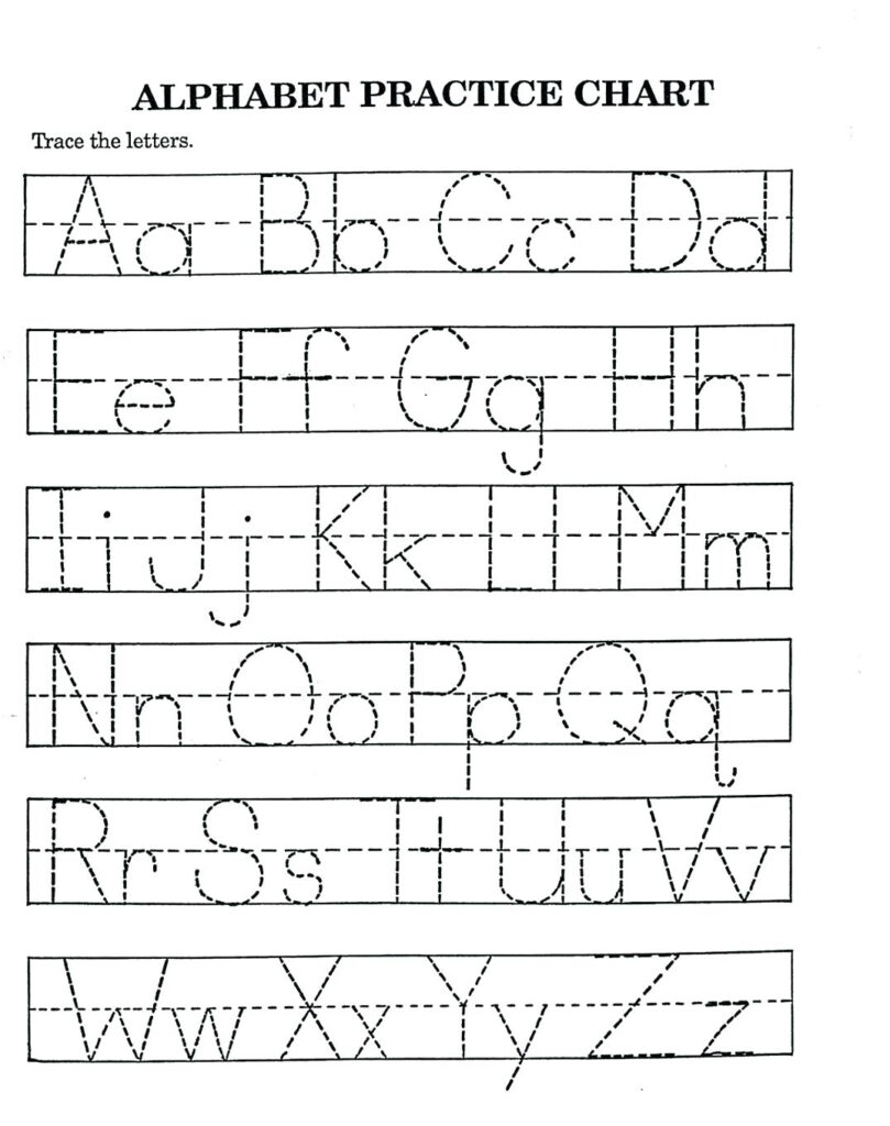 Alphabet Worksheets For Kindergarten Z Worksheetfun Az With A Z Alphabet Worksheets Kindergarten
