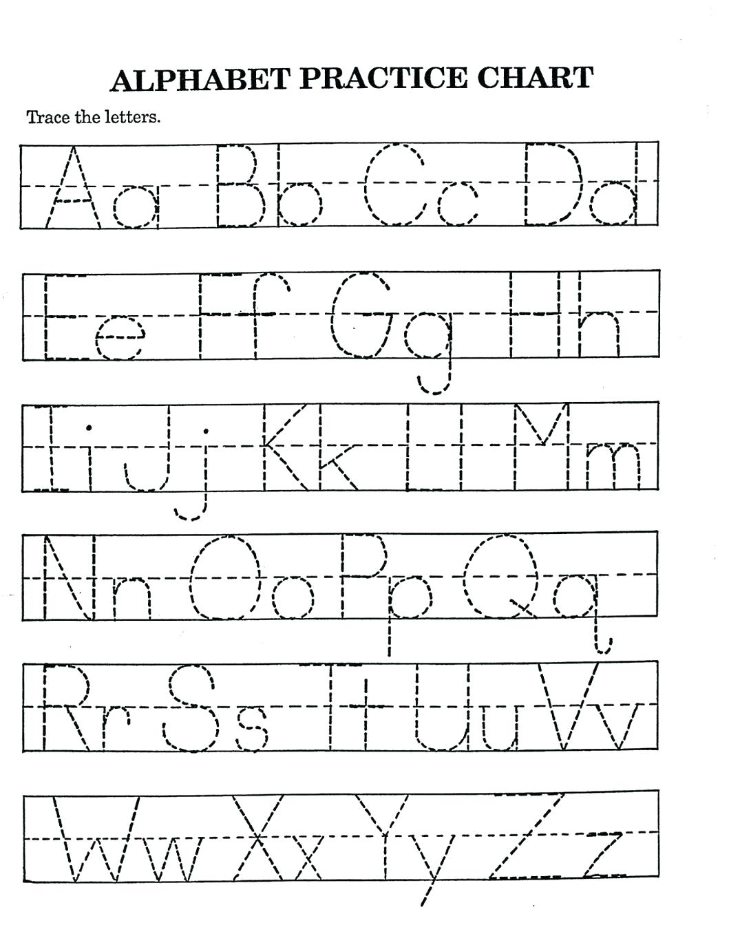 Alphabet Worksheets For Kindergarten Z Worksheetfun Az with A-Z Alphabet Worksheets Kindergarten