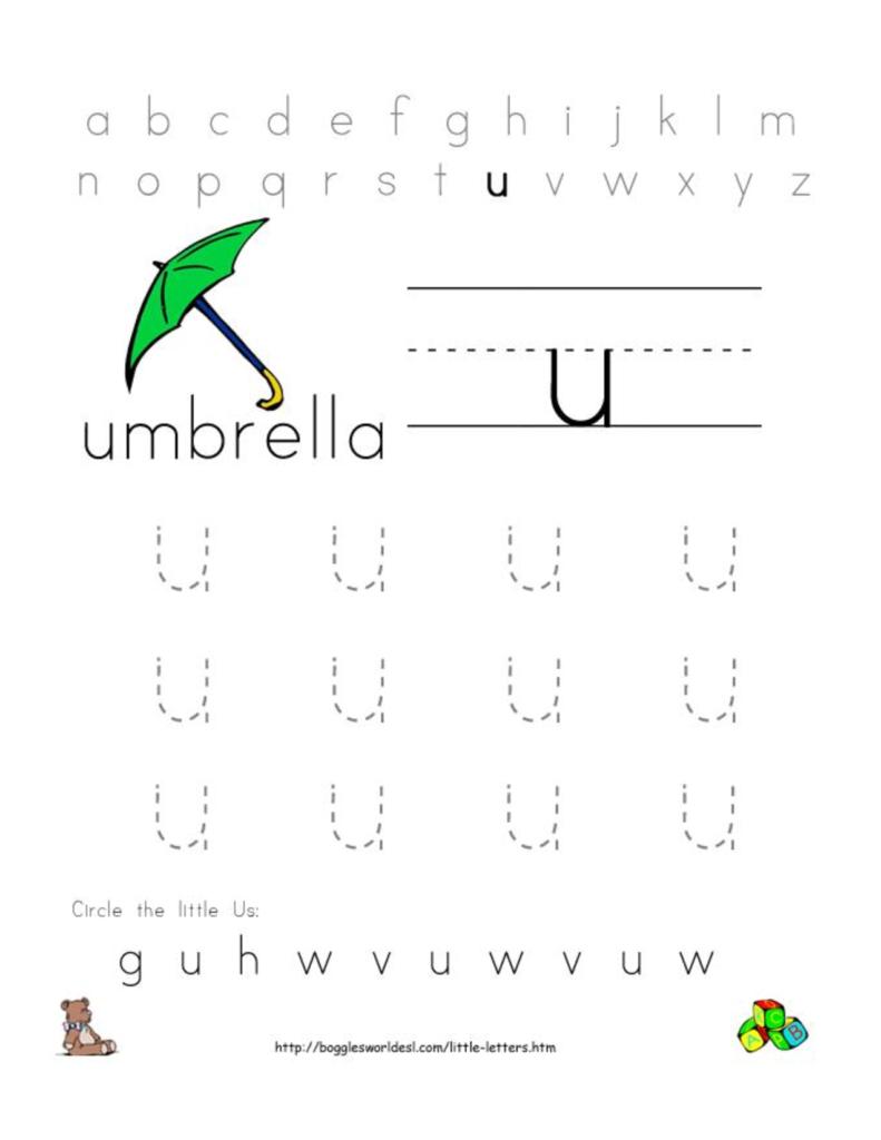 Alphabet Worksheets For Preschoolers | Alphabet Worksheet Inside Alphabet Worksheets Doc