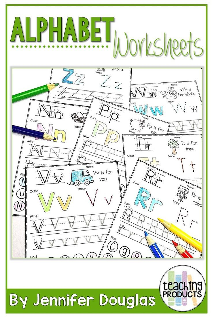 Alphabet Worksheets | Teaching Products For Teachers inside Alphabet Worksheets For Special Needs
