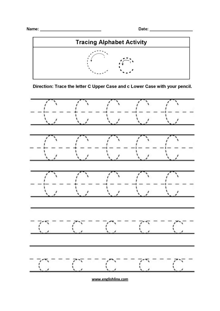 Alphabet Worksheets | Tracing Alphabet Worksheets For Grade 1 Alphabet Tracing Worksheets