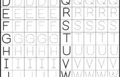 Alphabet Worksheets Printable