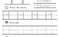Letter H Worksheets Free Printables
