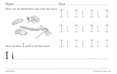 Alphabet Worksheets Ks1
