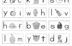 Alphabet Sounds Worksheets Esl