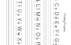 Alphabet Worksheets Upper And Lowercase