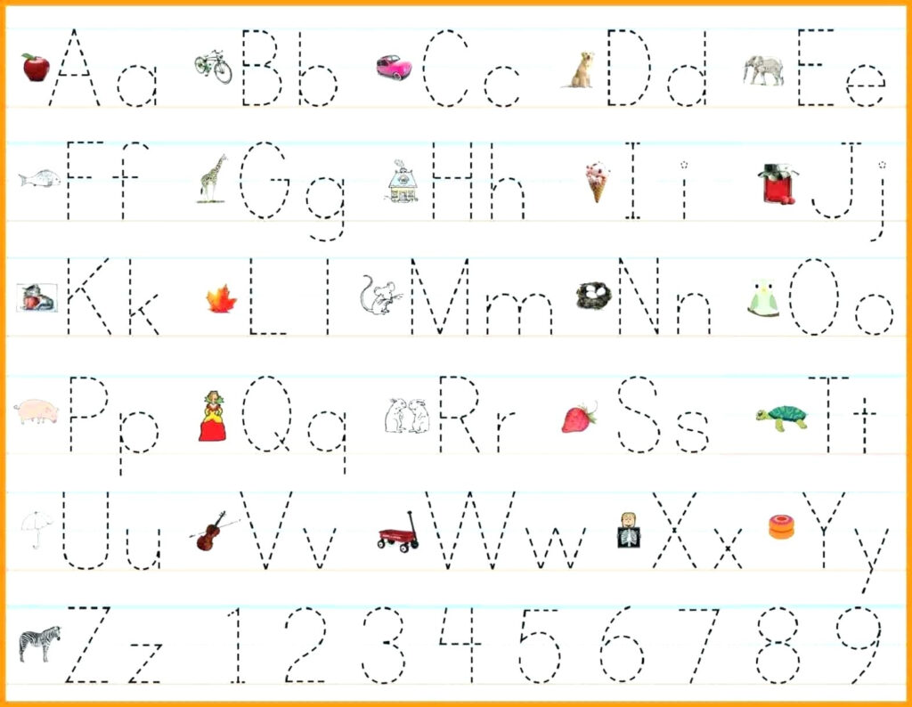 Coloring Book : Free Printing Worksheets For Kindergarten Regarding Alphabet Writing Worksheets Pdf
