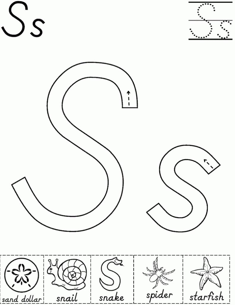Coloring Book : Kindergarten English Reading Worksheets regarding Letter Worksheets Kindergarten
