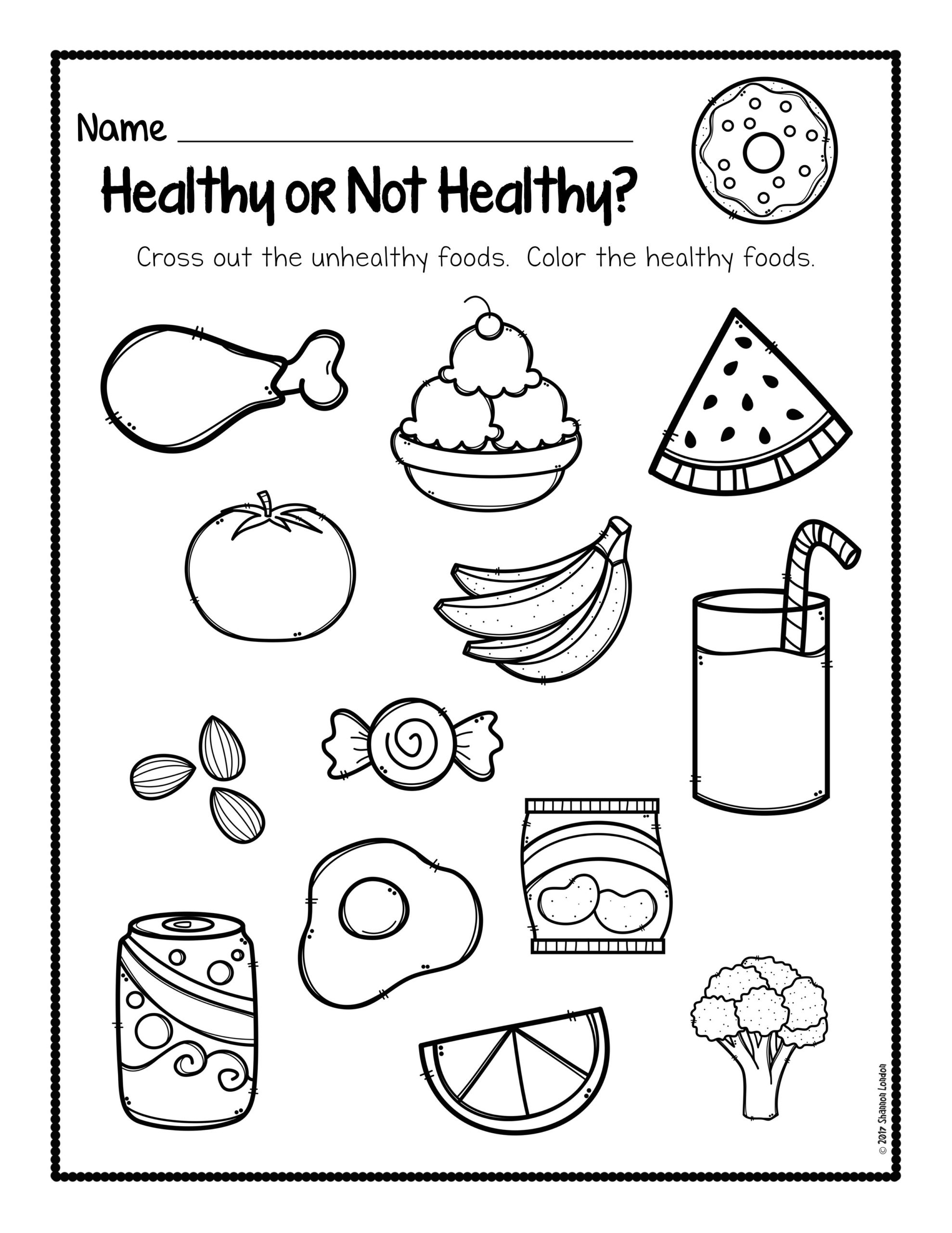 Coloring Page For Kids ~ Coloring Page For Kids Healthy Vs inside Letter C Worksheets Super Teacher