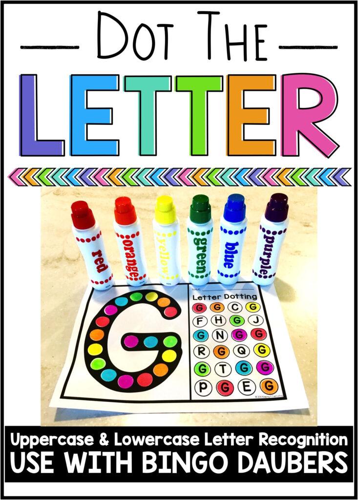 Dot The Letter | Preschool Letters, Learning Letters Inside Alphabet Dauber Worksheets