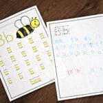 Free A To Z Letter Practice – Kindergarten Worksheets And Games Inside Free Alphabet Worksheets For 1St Grade