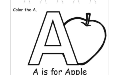Free Printable Pre-K Alphabet Worksheets