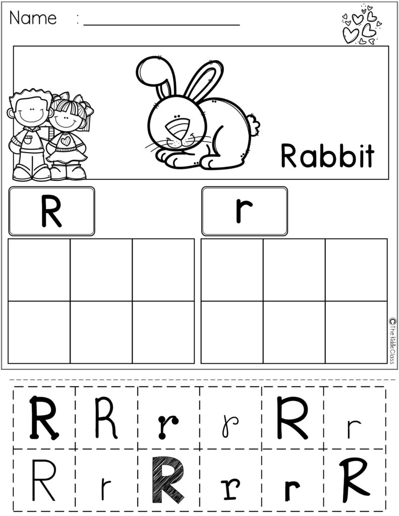 Free Alphabet Cut And Paste | ***tpt Great Educational With Alphabet Worksheets Cut And Paste