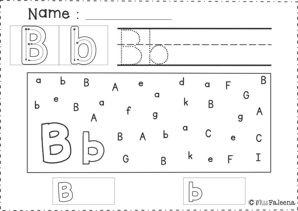 Free Alphabet Letter Find | Letter Find, Preschool Letters Within Alphabet Worksheets For Special Needs