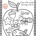 Free Alphabet Letter Of The Week A | First Grade Freebies Throughout Free Alphabet Worksheets For 1St Grade