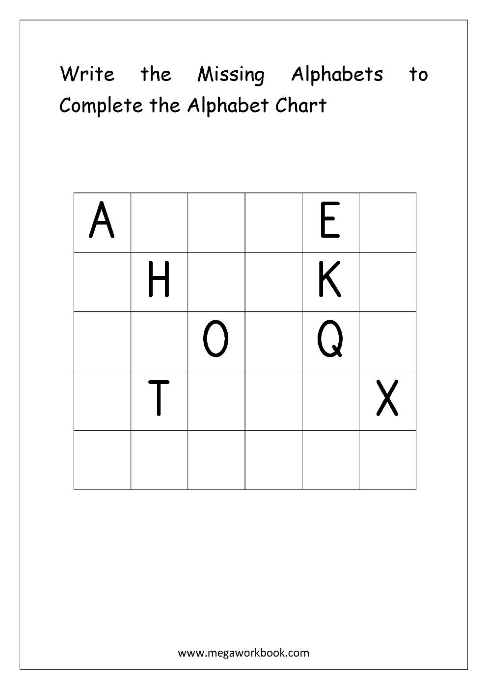 Free English Worksheets - Alphabetical Sequence with regard to Alphabet Sequencing Worksheets For Kindergarten