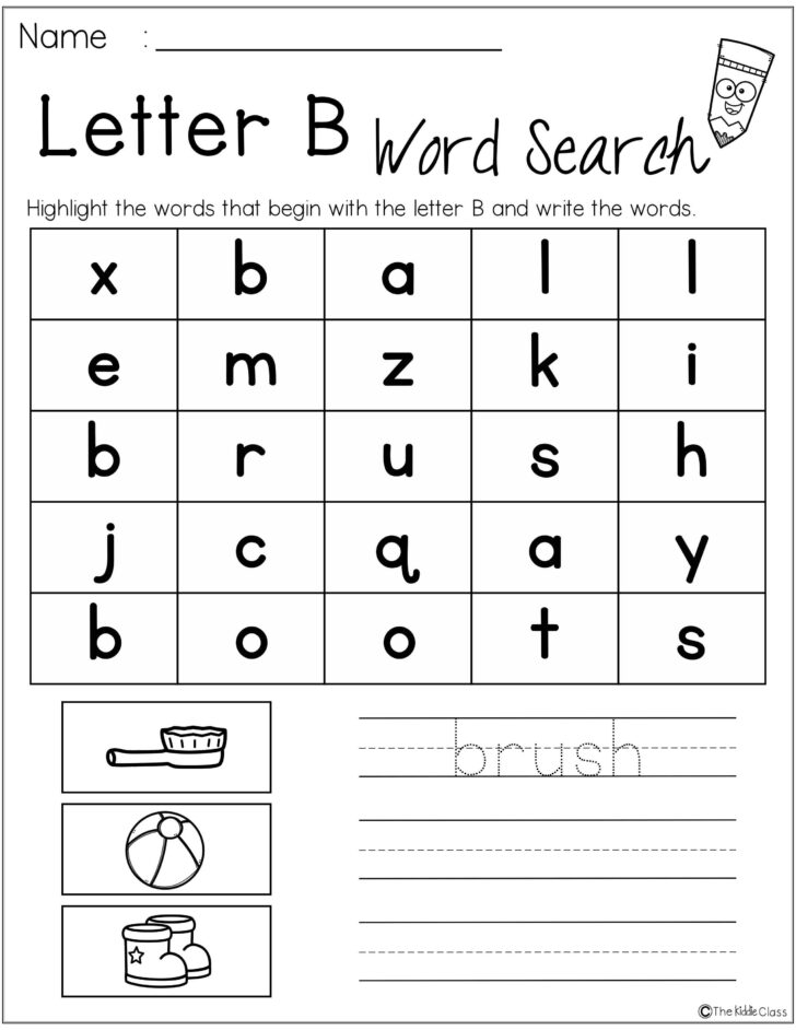Letter Orientation Worksheets
