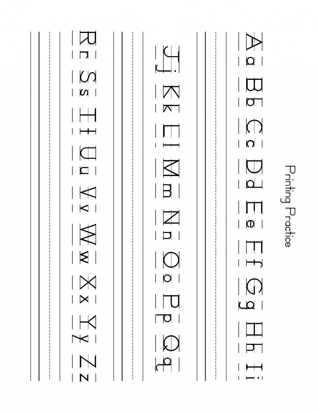 Free Lowercase Letter Worksheets Zb Printing Practice To within Lowercase Alphabet Worksheets