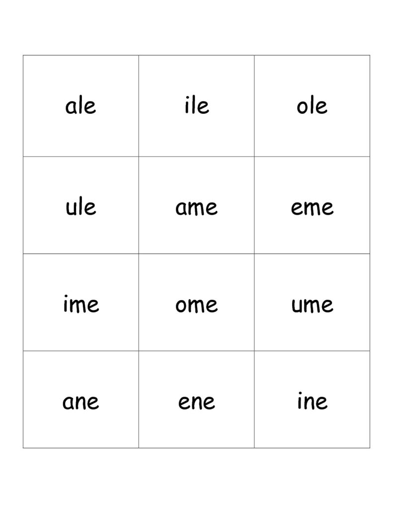 Free Phonics Printouts From The Teacher's Guide For Vowel Alphabet Worksheets