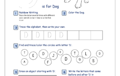 Alphabet Recognition Worksheets For Kindergarten