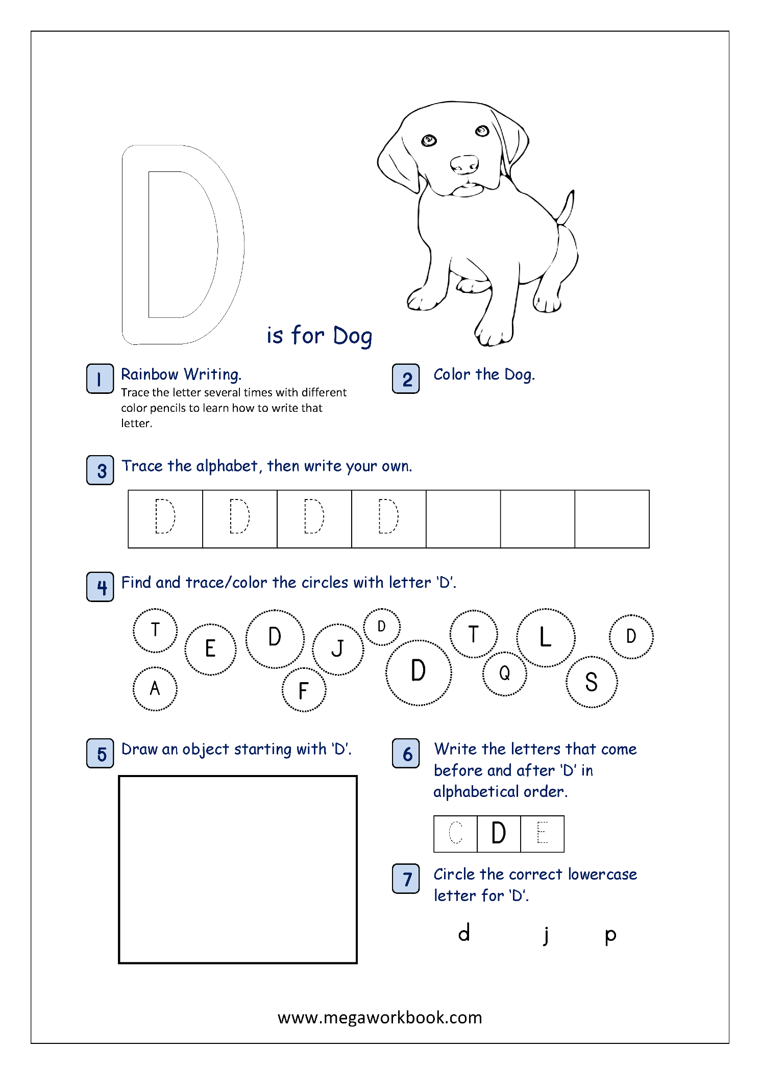 Free Printable Alphabet Recognition Worksheets For Capital within Alphabet Recognition Worksheets For Kindergarten