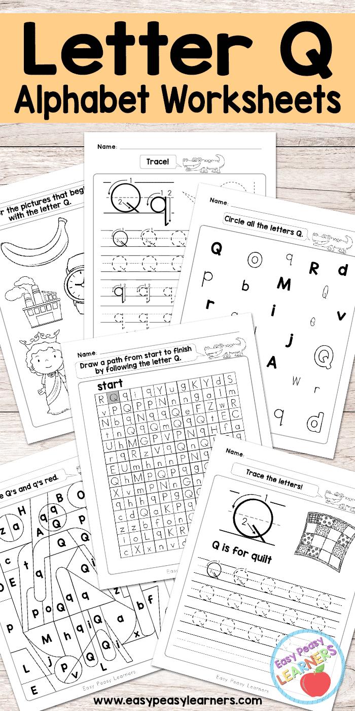 Free Printable Letter Q Worksheets - Alphabet Worksheets with Letter O Worksheets Free Printable