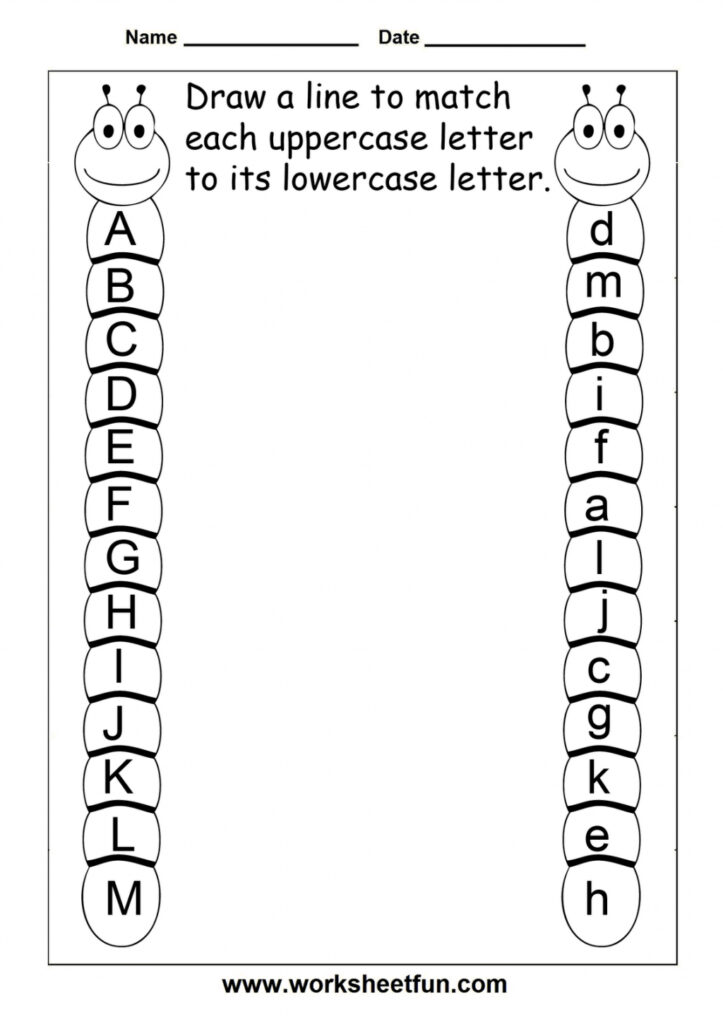Free Printable Letter Worksheets For Year Olds Writing Inside Alphabet Letters Worksheets Grade 3