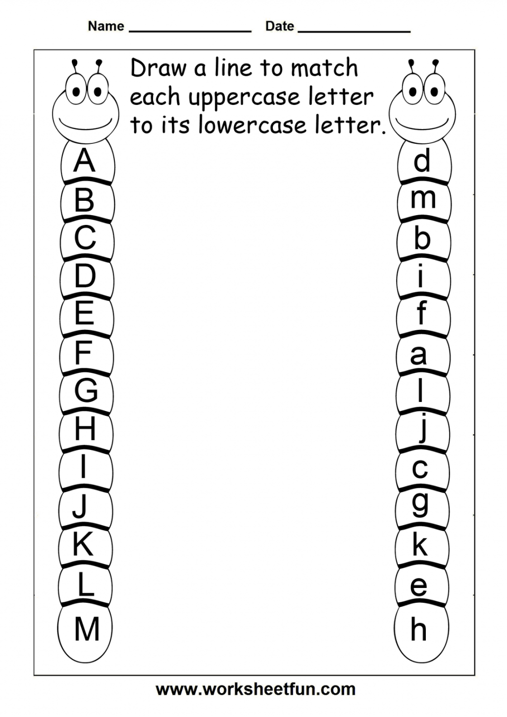 Free Printable Letter Worksheets For Year Olds Writing with Alphabet Worksheets Grade 1