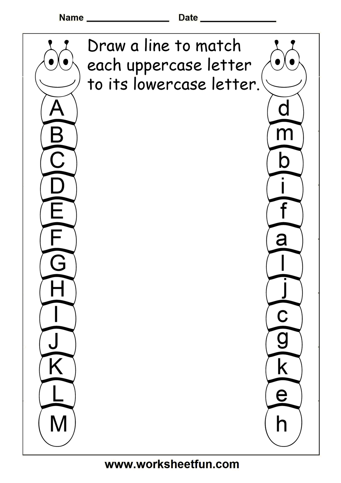 Free Printable Worksheets | Kids | Kinder Printables pertaining to Grade 1 Alphabet Worksheets