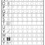 Free Uppercase Letter Tracing Worksheets | Letter Tracing In Alphabet Writing Worksheets Free