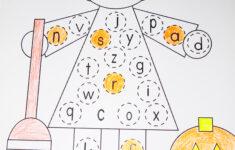 Alphabet Halloween Worksheets