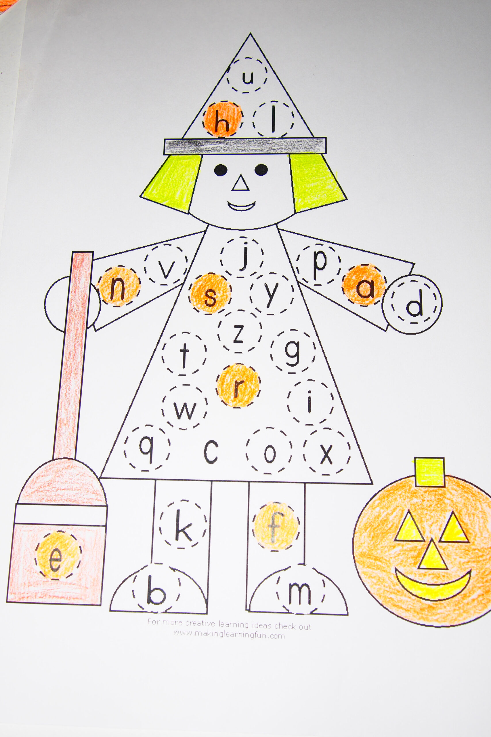 Halloween – Ken And Karen for Alphabet Halloween Worksheets